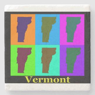 Vermont-Karte Steinuntersetzer