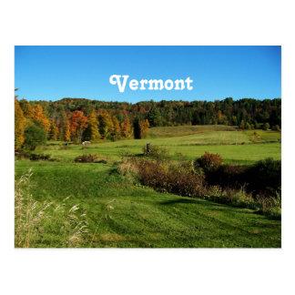 Vermont-Landschaft Postkarte
