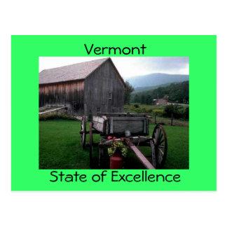 Vermont Postkarte