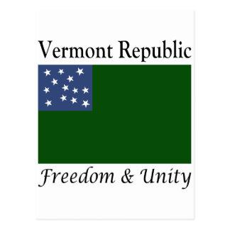 Vermont-Republik Postkarte