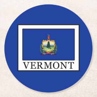 Vermont Runder Pappuntersetzer
