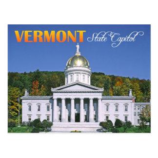 Vermont-Staats-Hauptstadts-Gebäude, Montpelier Postkarte
