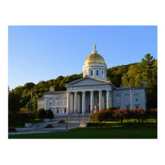 Vermont-Staats-Haus, Montpelier Postkarte