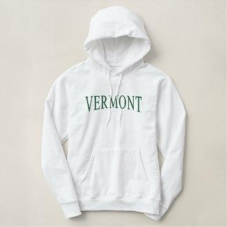 Vermont stickte Hoodie