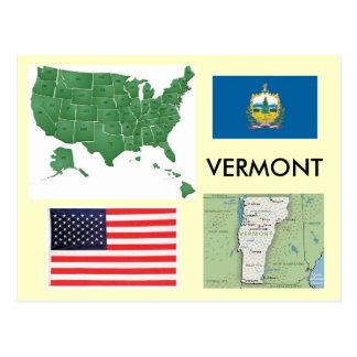 Vermont, USA Postkarte