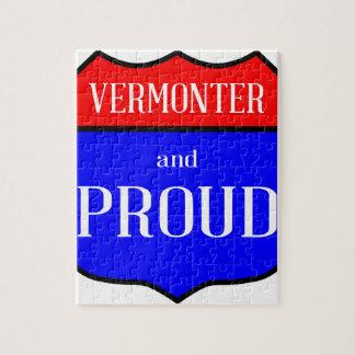 Vermonter und stolzes puzzle