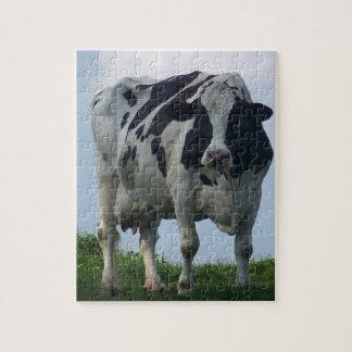 Vermontschwarzweiss-Milchkuh Puzzle