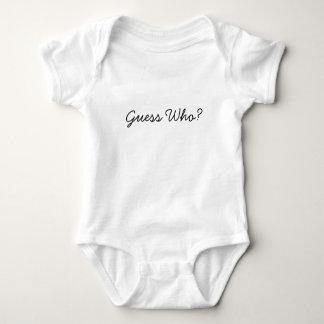 Vermutung wer? baby strampler