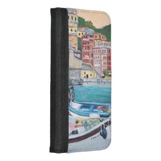 Vernazza - iPhone 8/7 Geldbörsen-Kasten iPhone 8/7 Plus Geldbeutel-Hülle