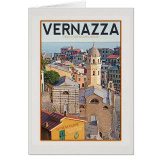 Vernazza - Kirche von Sankt Margherita d'Antiochia Karte
