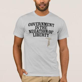 Verneinung des Freiheits-Marionetten-T - Shirt