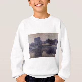 Vernon-Kirche im Nebel durch Claude Monet Sweatshirt