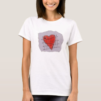 Vernünftiges Herz-T-Stück T-Shirt