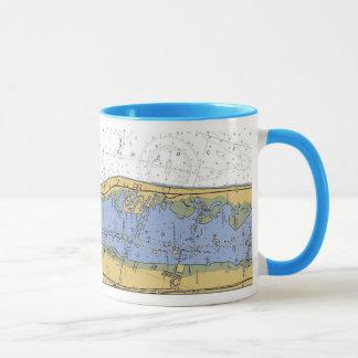 Vero- Beachhafen-Navigations-Diagramm-Kaffee-Tasse Tasse