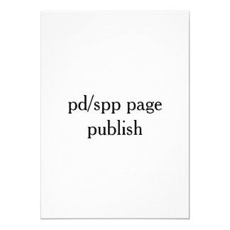 veröffentlichen Sie von pd/spp Seite Karte