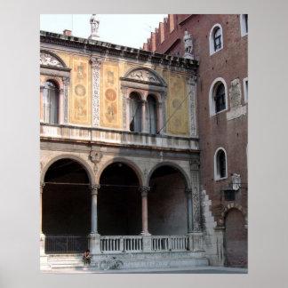 Verona, Italien Poster
