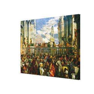 Veronese - die Hochzeit bei Cana Leinwanddrucke