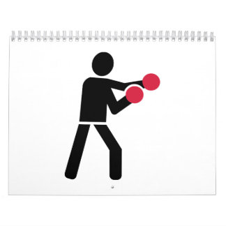 Verpacken-Boxer Kalender