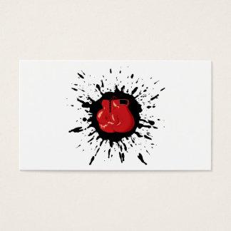 Verpacken-Explosion Visitenkarte