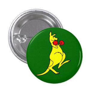 Verpacken-Känguru Runder Button 2,5 Cm