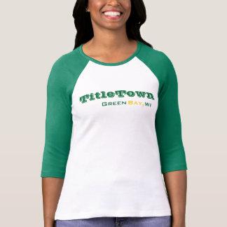 Verpacker-Baseball-Shirt T-Shirt