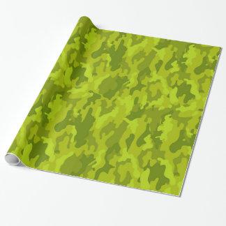 Verpackungs-Papier der Armee-Tarnungs-(Limone Geschenkpapier