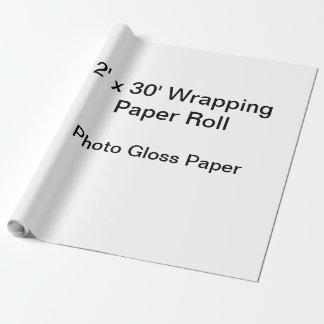 Verpackungs-Papier (Rolle 2x30, Foto-Glanz-Papier) Geschenkpapier