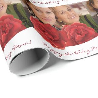 Verpackungs-Papier Rosen der alles Gute zum Geschenkpapier