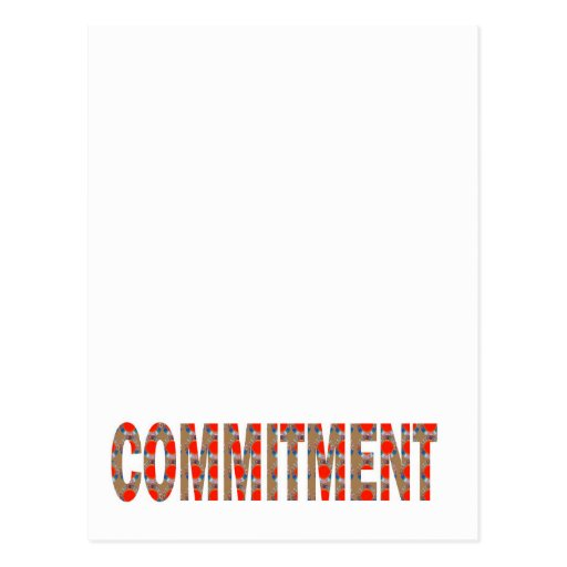 VERPFLICHTUNG Versprechen-Eid-Verantwortung Postkarten