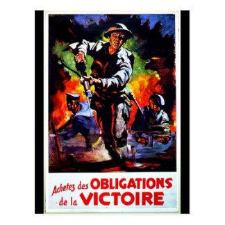 Verpflichtungen Victorie Postkarte
