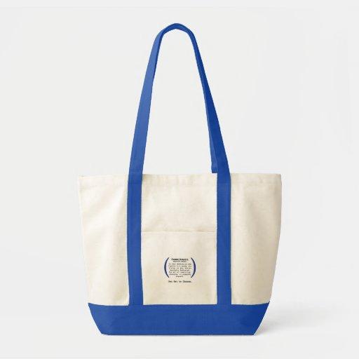 Verpflichtungs-Taschen-Tasche