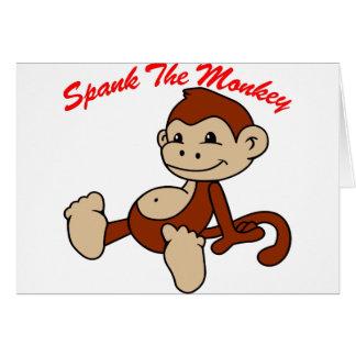 Spank den Affen Newcastle