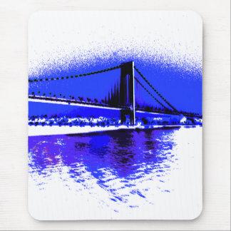 Verrazano violettes Brücke mousepad