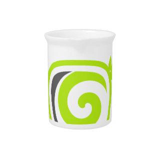 Verringern Sie - recyceln Sie - genießen Krug