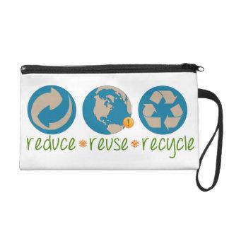 Verringern Sie, verwenden Sie wieder, recyceln Sie