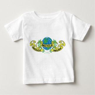 Verringern Sie Wiederverwendung recyceln (2) Hemden