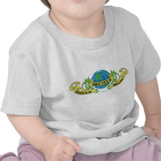 Verringern Sie Wiederverwendung recyceln (2) Hemd