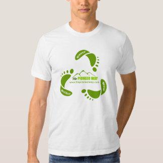 """Verringern Sie Wiederverwendung recyceln """"gemacht Shirt"""