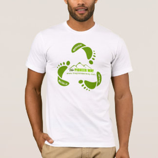 """Verringern Sie Wiederverwendung recyceln """"gemacht T-Shirt"""