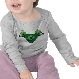 Verringern Sie Wiederverwendung recyceln Wappen Shirts