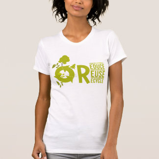 Verringern-Wiederverwendung-Recyceln Sie Hemden