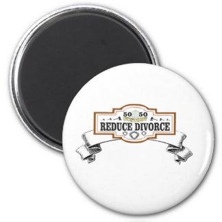 verringert Schutz 50 50 Scheidung Runder Magnet 5,7 Cm