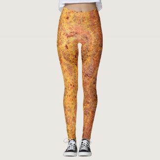 Verrostete befestigte Metallgamaschen Leggings
