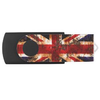 Verrostete patriotische Königreich-Flagge USB Stick