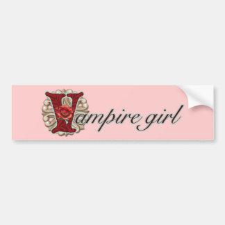 Verrückt für Vampire Autoaufkleber
