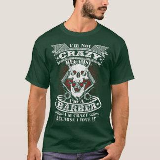 Verrückt zur Liebe es - Friseur-T - Shirt