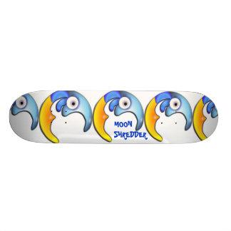 """Verrückte Cartoon-""""Mond-Reißwolf"""" Skateboard-Platt Skateboard Bretter"""