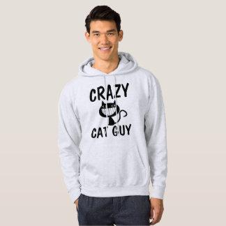 VERRÜCKTE CAT-TYP-T - Shirts, lustig Hoodie