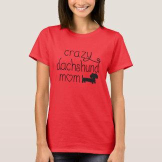Verrückte Dackel T-Shirt