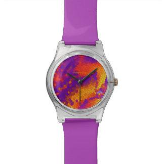 """verrückte Farben "" Armbanduhr"